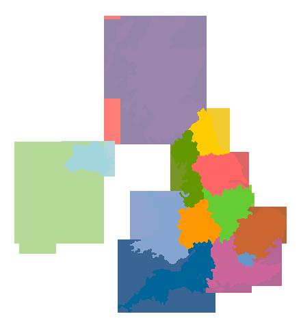 UK regional map